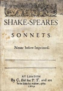 Sonets by Shakeaspear