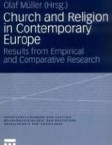 Biserică şi religie în Europa contemporană